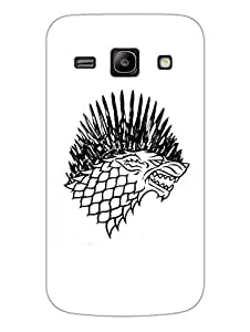 Game Of Thrones - Starks - Hard Back Case Cover for Samsung Core Prime - Superior Matte Finish - HD Printed Cases and Covers