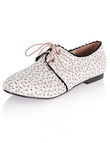 ZQ Scarpe Donna - Stringate - Casual - Punta arrotondata - Piatto - Tessuto - Nero / Verde / Rosa , blue-us10.5 / eu42 / uk8.5 / cn43 , blue-us10.5 / eu42 / uk8.5 / cn43 green-us8.5 / eu39 / uk6.5 / cn40