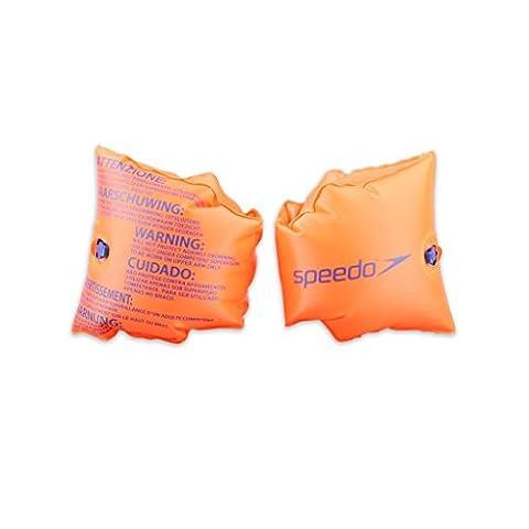 Speedo Kids' Inflatable Armbands - Orange, 0-2