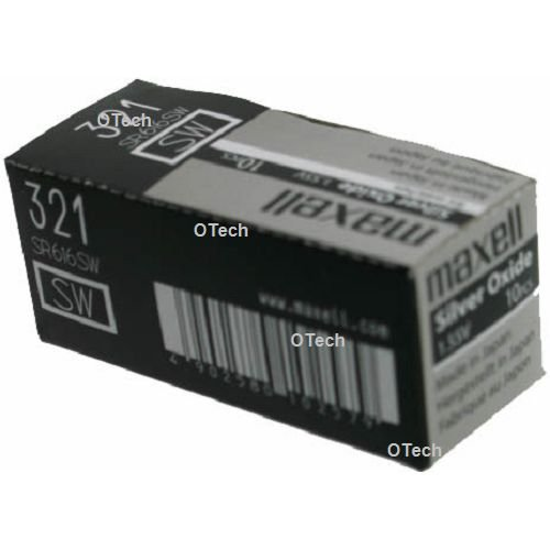 SR616SW/SR65 PILE MONTRE OXYDE D\'ARGENT