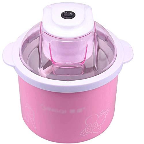 Snjdx macchina for lo yogurt - mini macchina for gelato, congelatore automatico di frappè for dessert alla frutta surgelato dolce for uso domestico