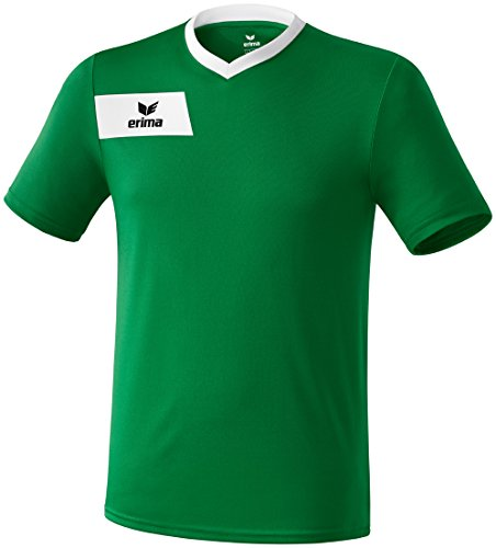 erima Erwachsene Trikot Porto, Smaragd/Weiß, XL