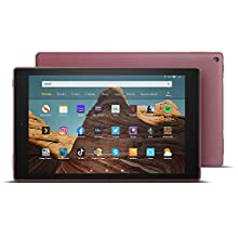 "All-new Fire HD 10 Tablet | 10.1"" 1080p Full HD display, 64 GB, Plum with Special Offers"