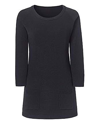 Marisota Knit Tunic Jumper BLACK 10-32 (12/14)