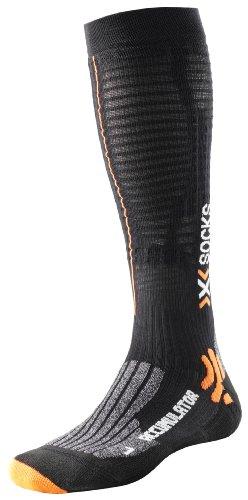 X-Socks Accumulator Run - Calcetines de compresión para deporte negro negro Talla:42-44
