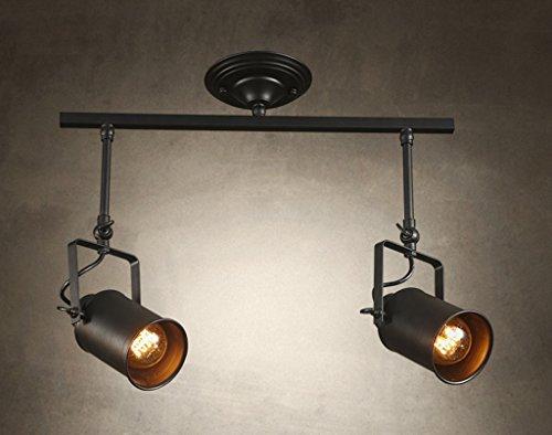 Home mall- Loft Industrie-stil Retro Lampe Scheinwerfer Cafés Kreative Persönlichkeit Wohnzimmer Küche Deckenleuchte ( größe : 52*43.5cm )