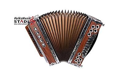 Steirische Harmonika Alpen Natur Palisander B es as des