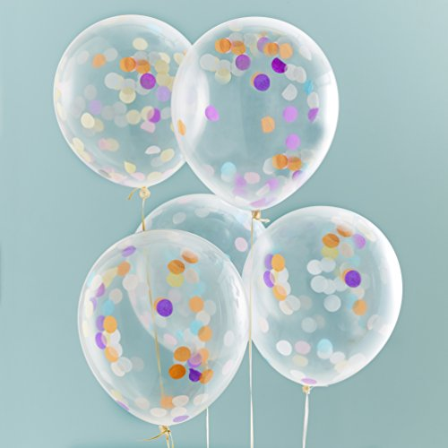 ginger-ray-confetti-filled-clear-party-balloons-x-5-party-decorations-pick-and-mix