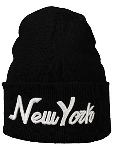 Bonnet Hiver Homme Basic Flap NY, New York, Miami, Chicago, Boston ou Washington