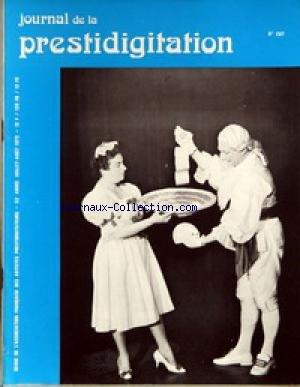 JOURNAL DE LA PRESTIDIGITATION [No 287] du 01/07/1972 -