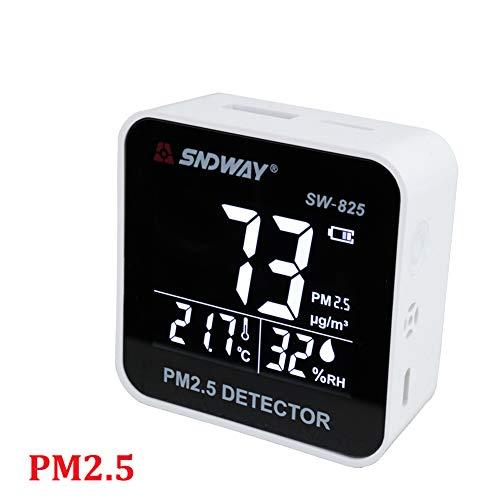 DZSF Tragbare Digital Air Quality Monitor Detektor Tester Gasmonitor/Gasanalysator/Temperatur-Luftfeuchtigkeitsmessgerät Diagnosewerkzeug