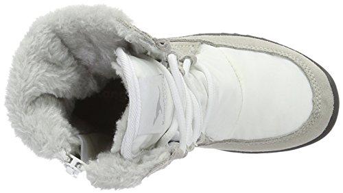 Kangaroos Unisex-Kinder Cupy  Kurzschaft Schneestiefel Weiß (White 000)