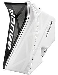 Bauer Supreme S150Blocker Junior, Couleur: Blanc/Noir; Jeu Page: FR/rechtsfänger