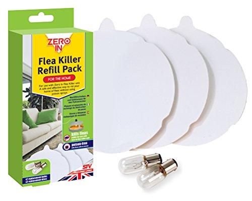 zero-in-flea-killer-3-refill-discs-and-2-spare-lamps-refill-pack