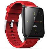 Écran Coloré Q9 Sports Smart Watch Étanche pour Android/iOS avec Fonctions De...