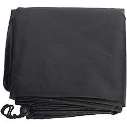 SparY Housse Chaise, Meubles Ménage Cour Pratique Polyester Imperméable Noir Lavable Jardin Poussière Complet Extérieur Protège - As Image Show, Free Size