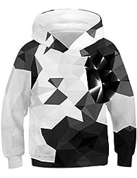 0e1076b49c Idgreatim Jungen Mädchen Hoodie 3D Print Kapuzenpullover Sweatshirts Mit  Kapuze Pullover 4-16Y