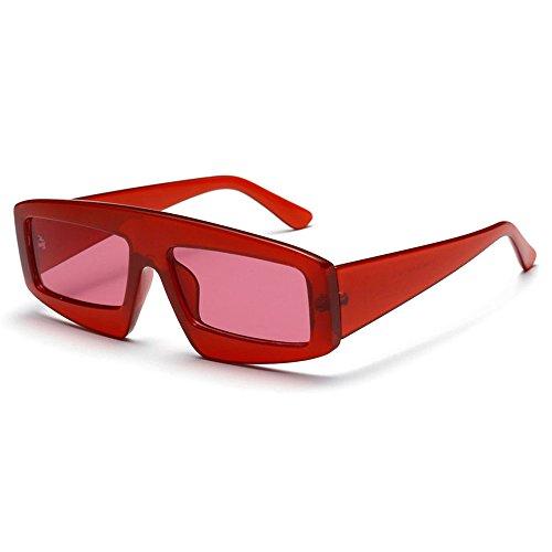 SHEEN KELLY INS Future Sonnenbrillen Rechteck Modedesigner Sonnenbrille Rechteck Square Shades für Frauen