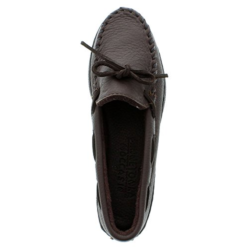 Minnetonka Moosehide Classic 492w, Mocassini Donna Marrone (ChocolateChocolate)