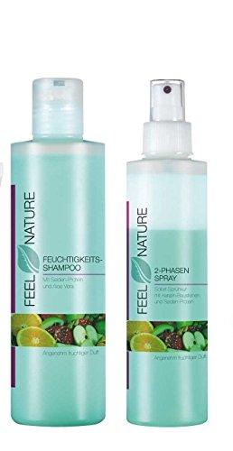 Feel Nature 2 Phasen Pflegespray 200 ml + Shampoo 250 ml -