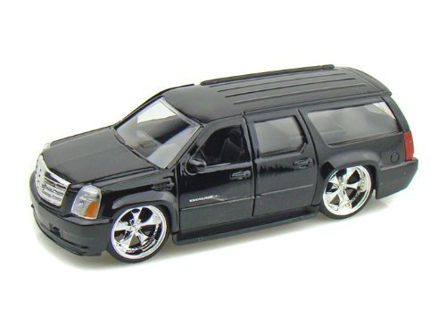 2007-cadillac-escalade-esv-1-32-black-jada-toys-diecast-by-collectable-diecast