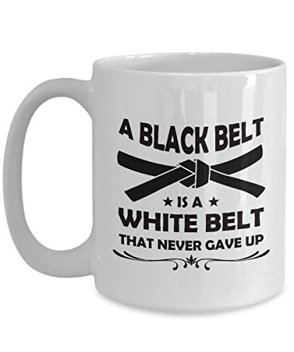 Black Belt Coffee Mug - Perfect Gifts Ideas For Women, Mom, Wife, Her,