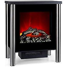 Klarstein Copenhagen • Chimenea eléctrica • Calefacción con termostato • Función de calefacción conmutable • 950