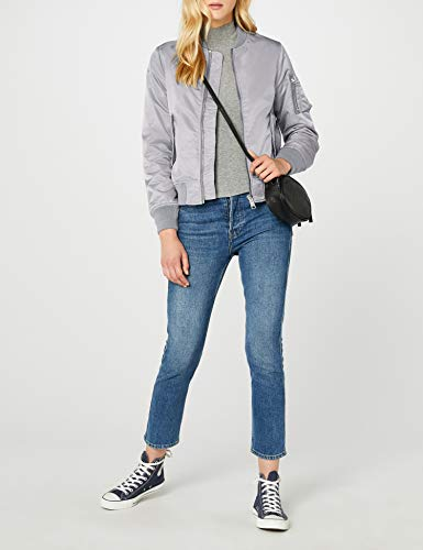 Brandit Damen Jacke Marcy Girls Bomberjacket, (Grau 9), Small - 4