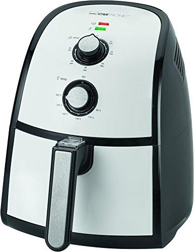 Clatronic-FR-3667-H-Freidora-sin-aceite-por-aire-caliente-capacidad-22-L-1500-W-color-gris-y-negro