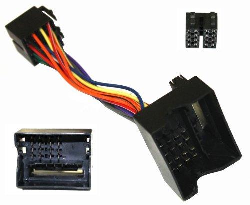 AERZETIX: Adaptador B4 con ISO Cables enchufes para autoradio