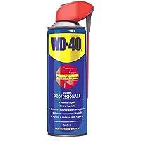 WD-40 MUP - Lubrificante Spray Multifunzione Anticorrosivo Idrorepellente Sbloccante Detergente Sistema Professionale con Doppia posizione - 500 ml