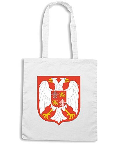 T-Shirtshock - Borsa Shopping TM0139 Yugoslavia citta Bianco