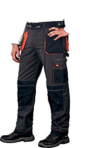 Arbeitshose Leber&Hollman Gr. 46-62 Arbeitsschutzhose Berufsbekleidung Sicherheitshose Schutzhose Hose Arbeitsschutzbekleidung (48)