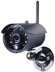 Smartwares 720P HD App-Kamera mit SD-Kartenslot Aufnahmefunktion, IP66 geschützt, C935IP