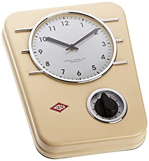 Wesco Classic Line Kitchen Clock - Almond (B0014BN4R0) | Amazon price tracker / tracking, Amazon price history charts, Amazon price watches, Amazon price drop alerts