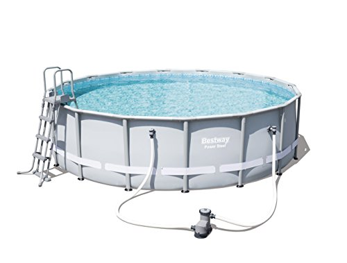Bestway Frame Pool Power Steel Set 488x122 cm