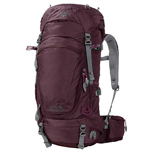 Jack Wolfskin Damen Highland Trail 34 Women Wandern Outdoor Trekking Rucksack, Burgundy, ONE Size