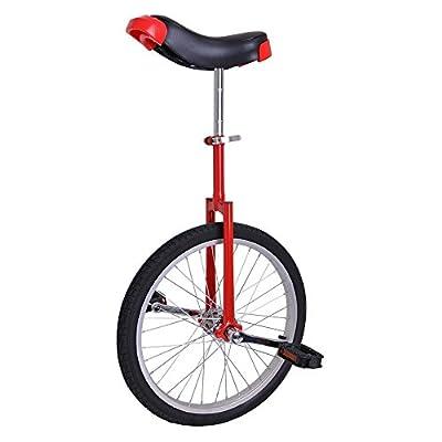 reasejoy 4,4x 50,8cm rutschfest Butyl Mountain Tire Rad Einrad und gratis Ständer Balance Radfahren