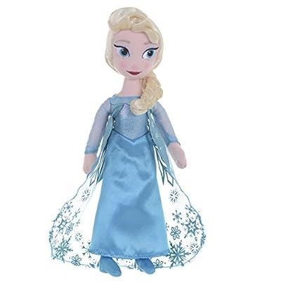 Frozen - Muñeco de trapo, diseño de Elsa (25,40 cm) por Posh Paws International LLP