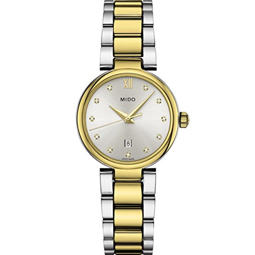 Mido Women's Baroncelli II Diamond 29mm Quartz Analog Watch M022.210.22.036.09