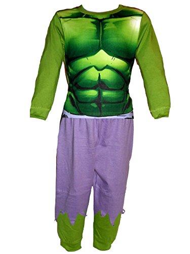 Kostüm America Super Hero Captain - Jungen-/Kinder-Kostüm, mit Superhelden-Design, auch als Schlafanzug geeignet Gr. 2/3 Jahre, Hulk