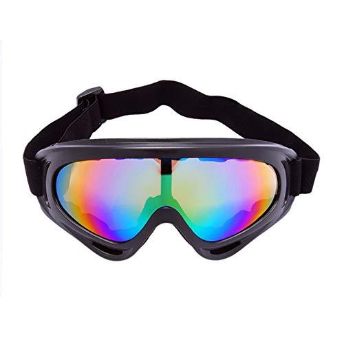 Alte Green Fahrrad Gläser CS Brille Motorrad-Windschutzscheibe Ski-Brille,A