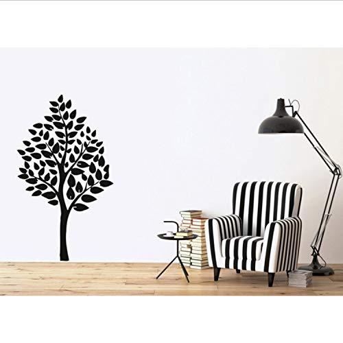 Baum Familie Floral Vinyl Wandaufkleber Positive Kinder Wandkunst Dekor Aufkleber Dekor Kinderzimmer Wohnzimmer Tapete -