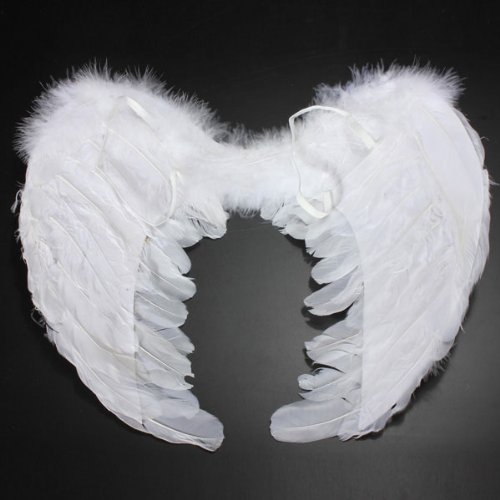 Baby Girl Feather Fairy Angel Wings Party Costume Photography Props