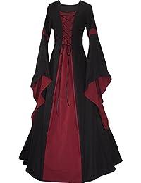 Dornbluth Damen Mittelalter Kleid Johanna Black