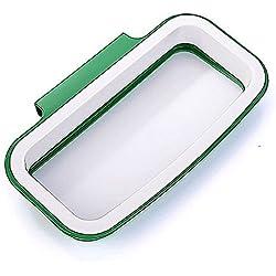 Cdet Armario de cocina armario de portón trasero almacenamiento soporte de basura, bolsas colgantes bastidor de basura