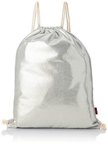 s.Oliver Damen 38.899.94.3661 Rucksackhandtasche, Silber (Metallic Silver), 2x33x43 cm