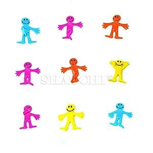 Gifts 4 All Occasions Limited SHATCHI-132 - Juego de 12 bolsas elásticas para fiesta de cumpleaños, multicolor
