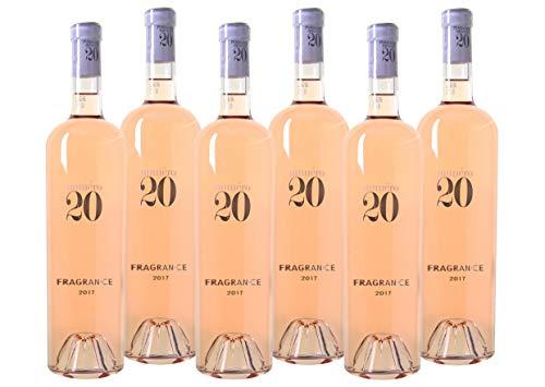 WEINVORTEIL - 6 Fl. Numéro 20 - Fragrance - Coteaux d`Aix en Provence AOC Rosé aus Frankreich...