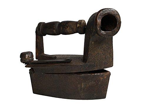 Nostalgie Bügeleisen Kohlebügeleisen Gusseisen Antik-Stil Gusseisen Bügeleisen